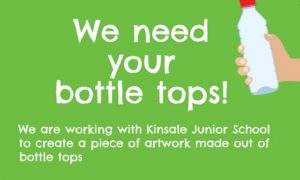 We need YOUR bottle tops