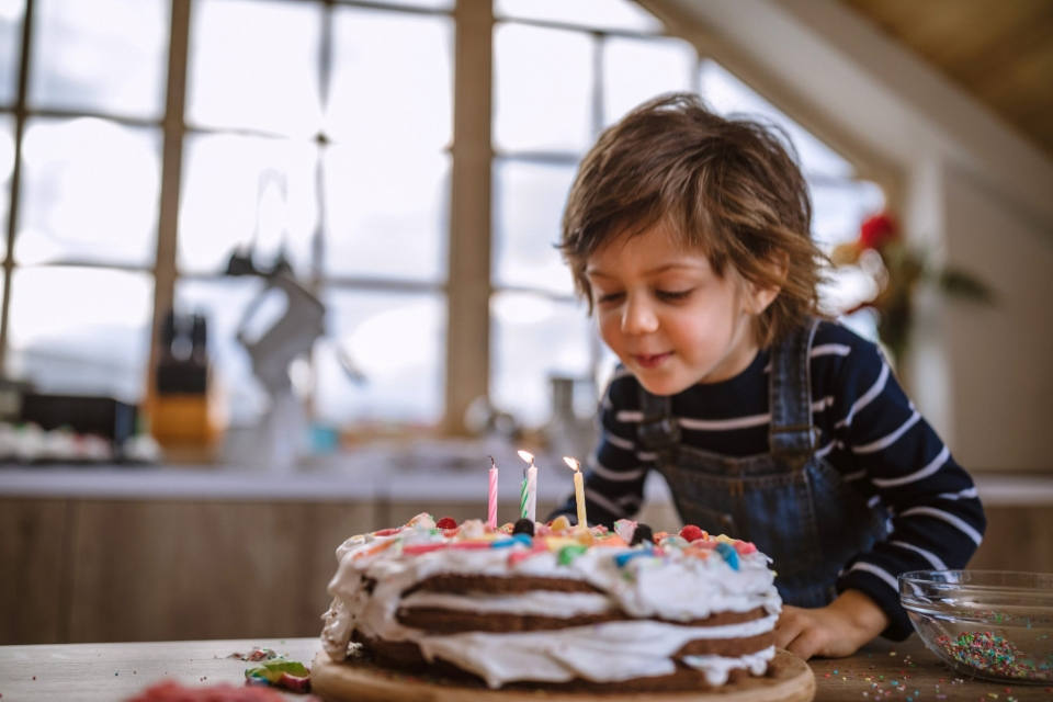 Celebrate Your Child's Birthday During Isolation