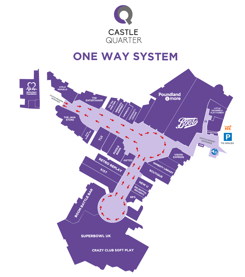 One Way System level 2