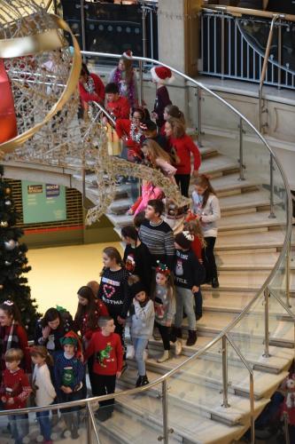 Castle Mall Christmas Lights 2018