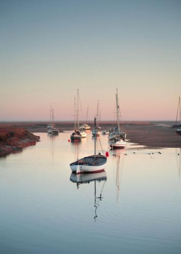 'A new day' - at Wells-Next-to-Sea by Lee M J Freeman